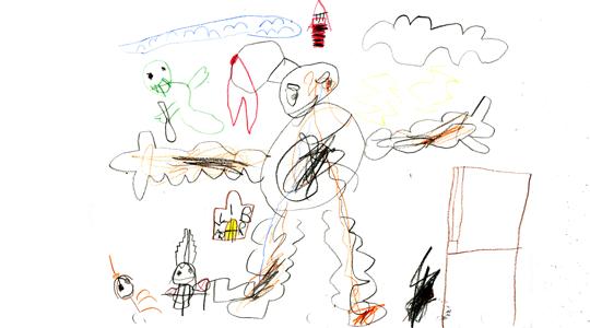 The Ghostbusters by Benjamin Sakai