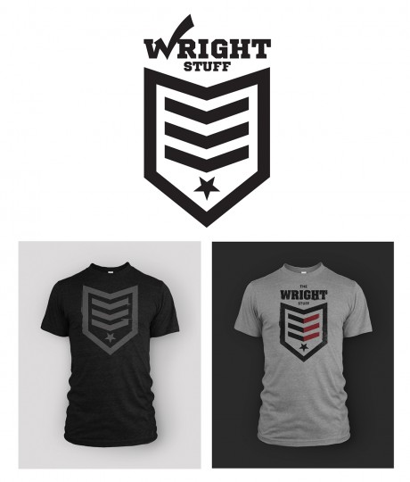 Designs for Jarius Wright. Logo by Yavuz Sonmez, t-shirt design by Go Media