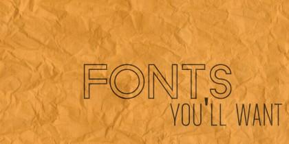 fonts