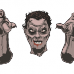 Go Media's Arsenal - Vector set 23 - Zombies and mummies