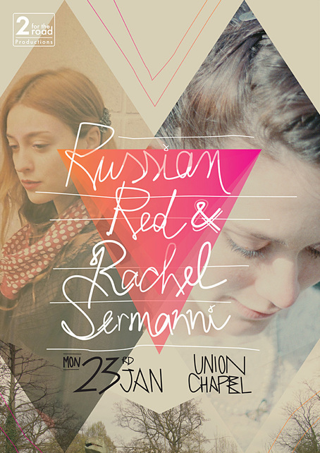 Russian Red at Union Chapel Poster