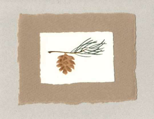 embossing, handmade paper | 2002