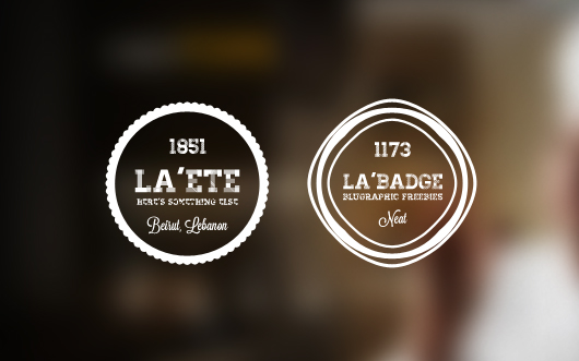 5 Photo Neat Retro Badges (PSD) by BluGraphic