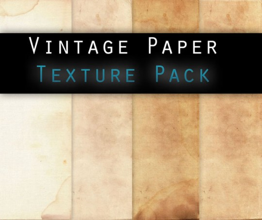 Vintage paper Texture Pack on Deviant Art