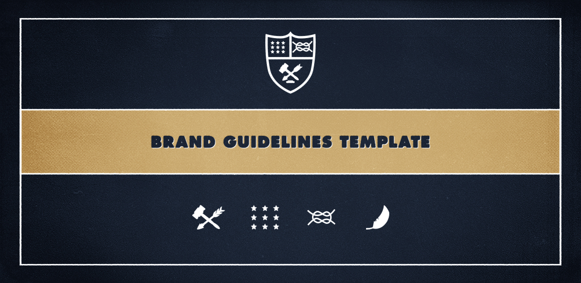 logo guidelines template .