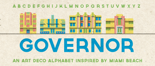 Governer by Riley Cran on Lost Type