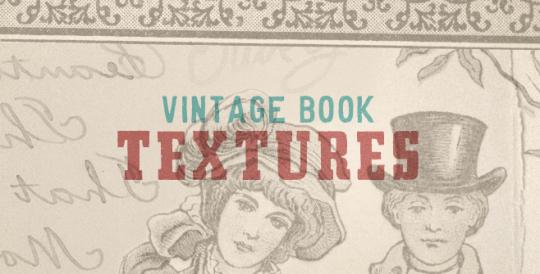 Vintage Book Textures on Pixel Pixel Pixel