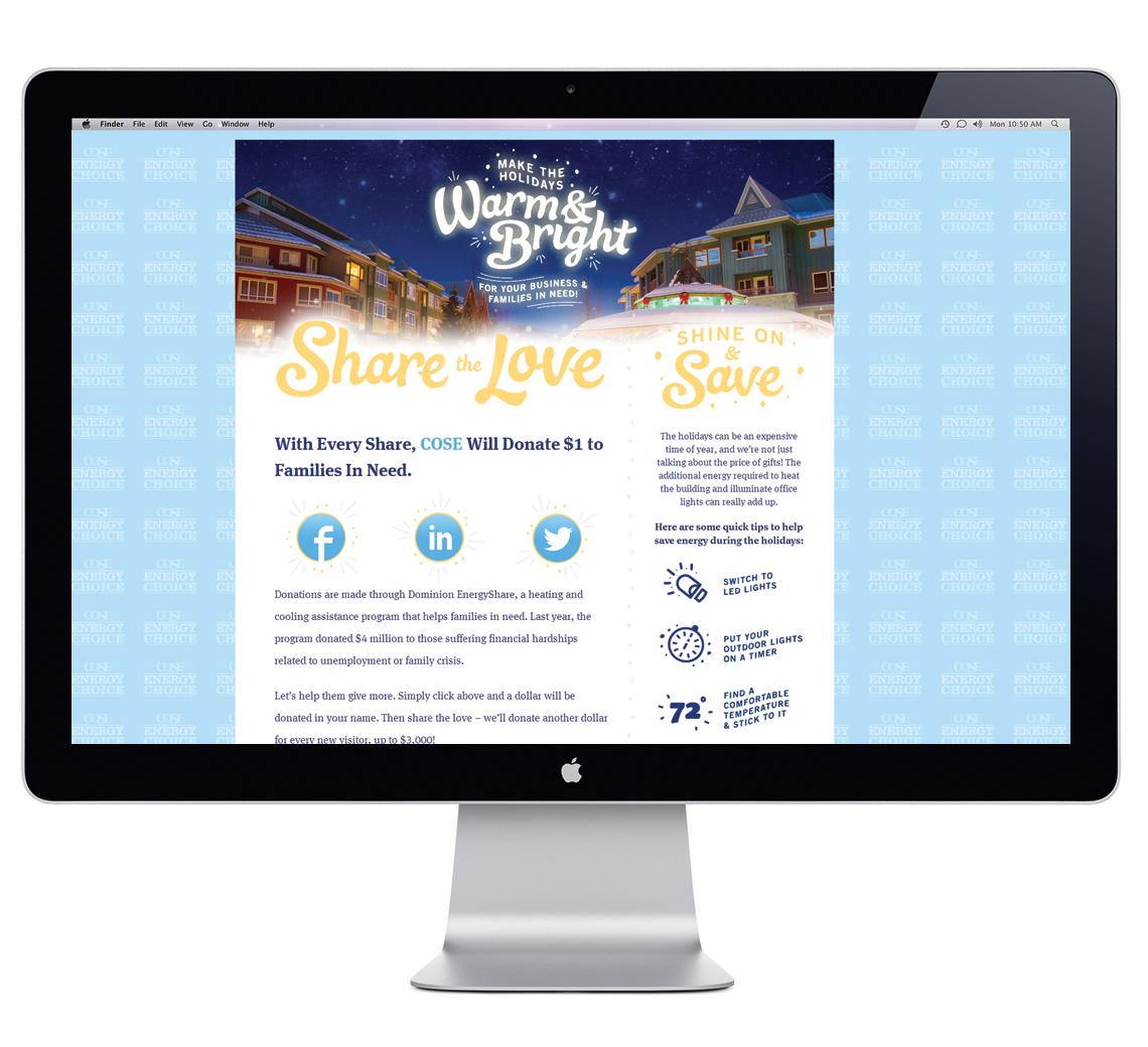 COSE Warm and Bright Website Design 3