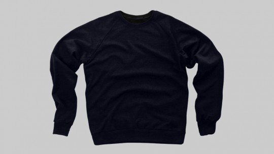 Men's Crew Neck Sweater Flat - Front