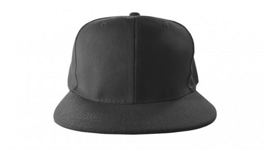 Find me here: Apparel > Headwear > Flat Billed Snapback Hat