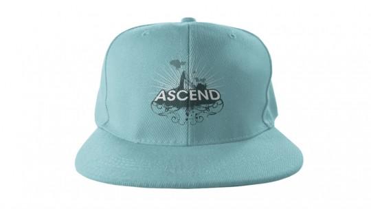 Mockup this Flat Billed Snapback Hat!