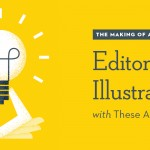 Tutorial: The Making Of An Editorial Illustration with These Are Things