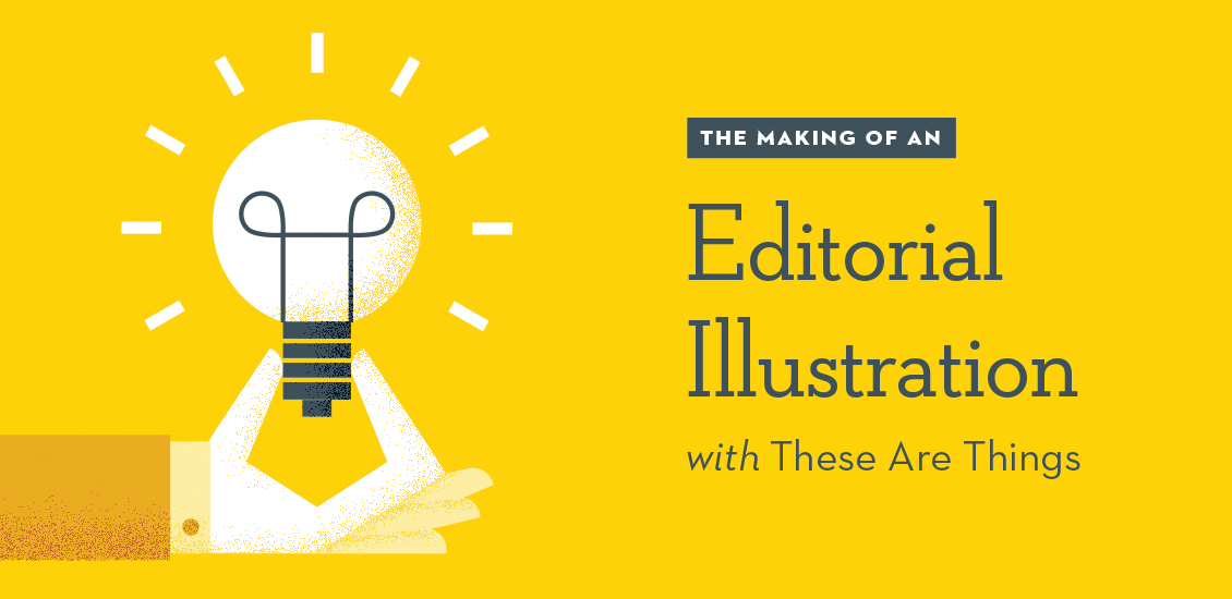 Tutorial The Making Of An Editorial Illustration With