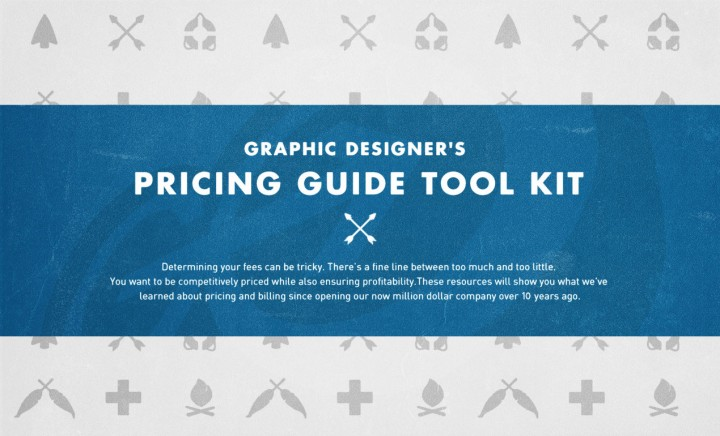Our Graphic Designer's Pricing Guide Took Kit, available on arsenal.gomedia.us