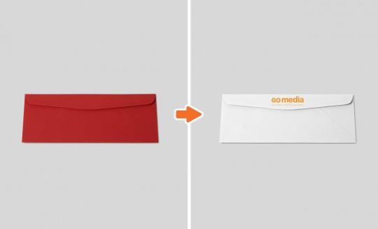 Envelope long back