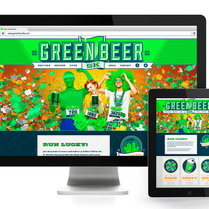 Green Beer 5K Website Design