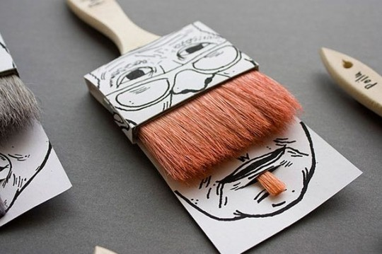 Paint Brush Packaging