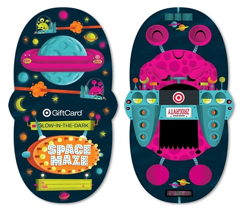 Target Gift Card   Invisible Creature Speaks