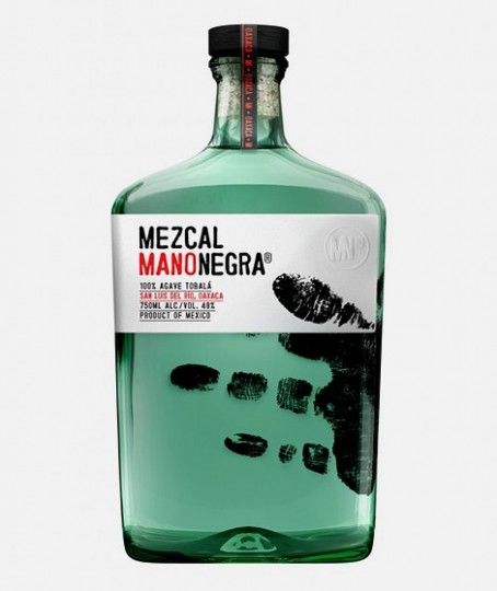 Design by Sociedad Anonima for Mezcal Manonegra.