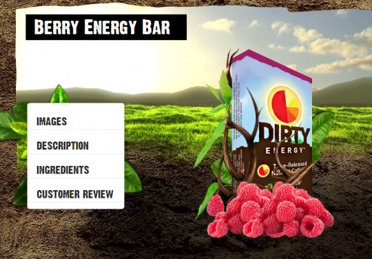 Berry Energy Bar
