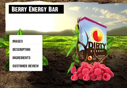 Berry Energy Bar