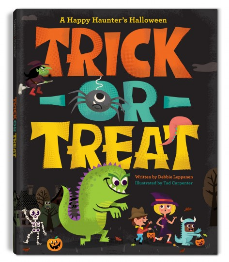 TRICK OR TREAT: A HAPPY HAUNTERS HALLOWEEN Illustration, Books