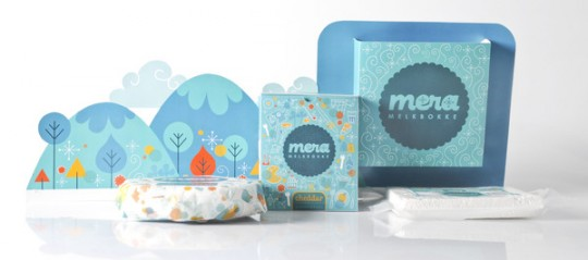 Mera® Goat Cheese Packaging by Stephan Pretorius