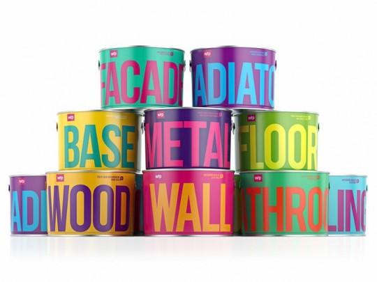 Waldo Trommler Paint Box Packaging Design