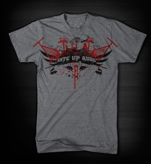 Ante Up Audio - Custom t-shirt design by Go Media