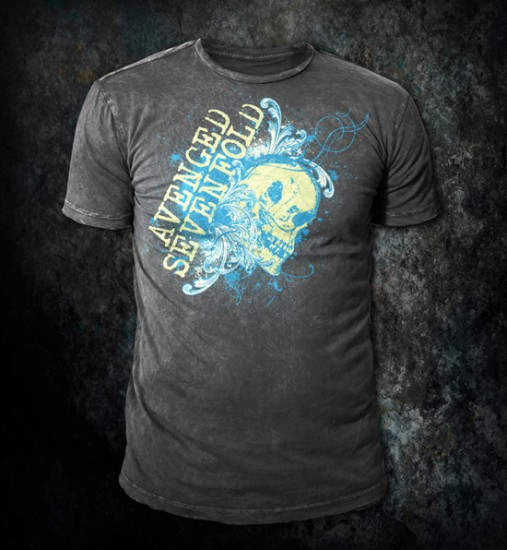 Avenged Sevenfold - Custom t-shirt design by Go Media
