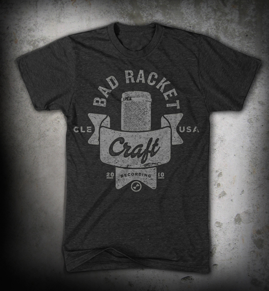 Bad Racket - Custom t-shirt design by Go Media