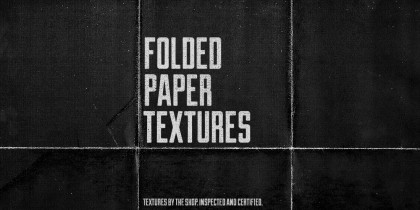 The folded paper texture pack demo - by The Shop / Simon Birky Hartmann