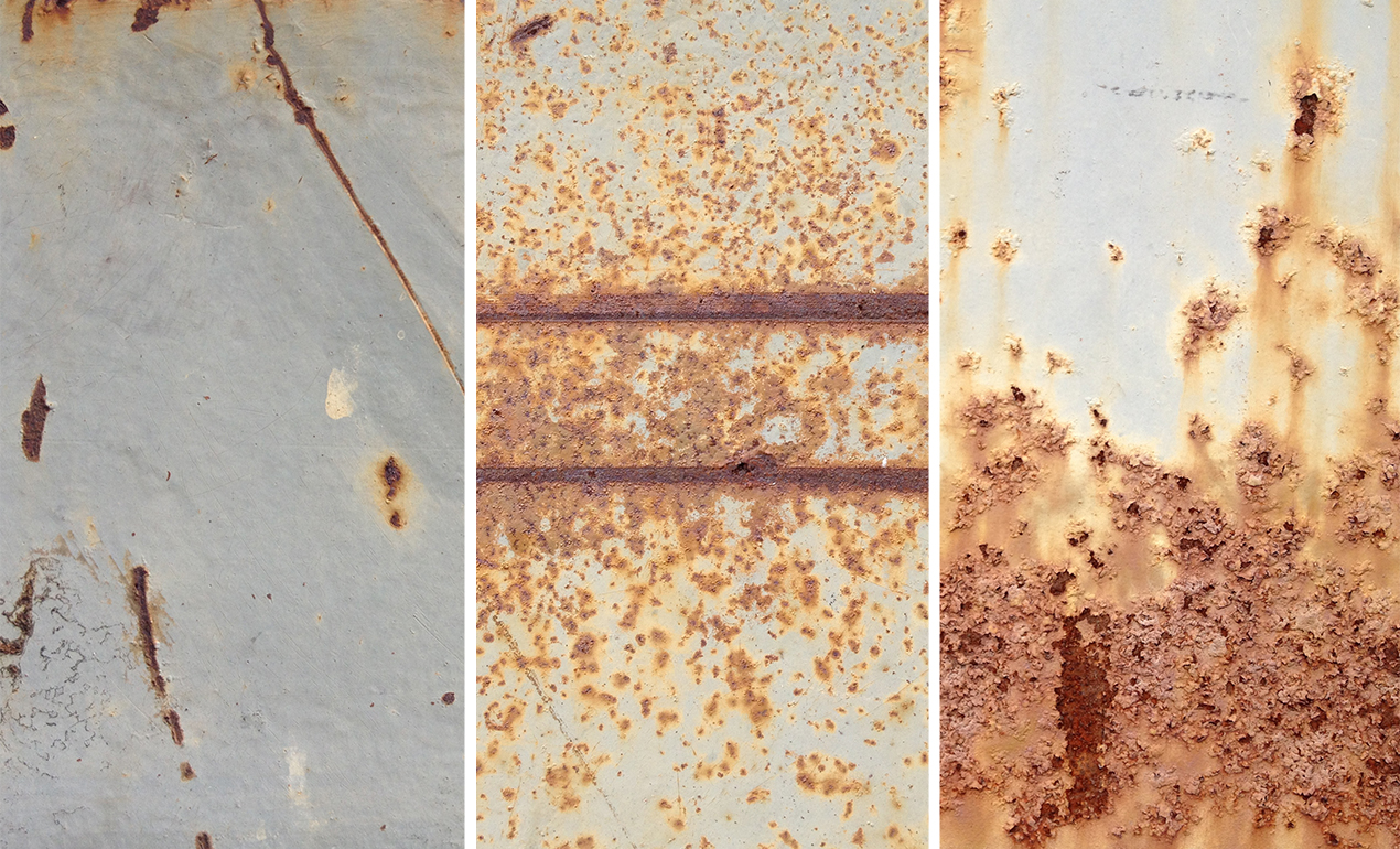 Texture Tutorial: using metal and rust textures to destroy ...