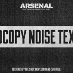 Texture Tutorial: Aged poster design with the Photocopy Noise Texture Pack
