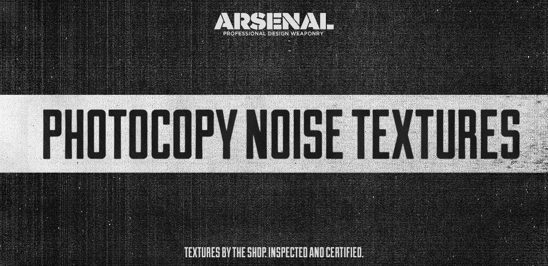 The photocopy noise texture pack by The Shop / Simon Birky Hartmann