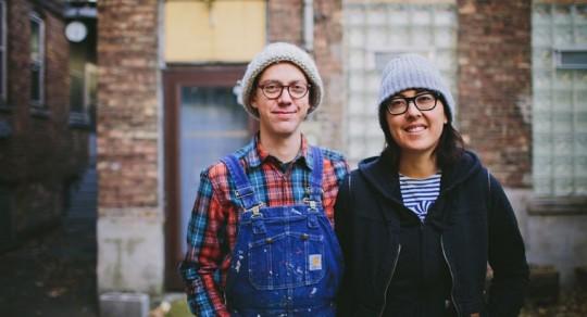 Sonnenzimmer is the art studio of Nick Butcher and Nadine Nakanishi