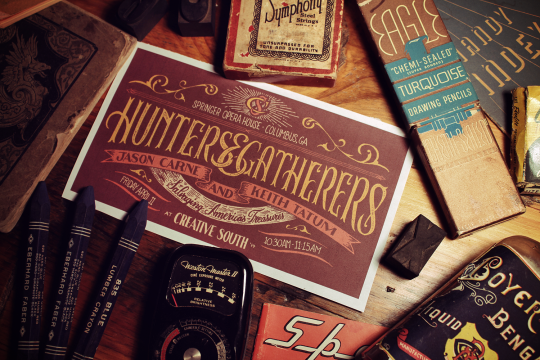 Courtesy of Jason Carne | His hand-lettering tutorial is now available on arsenal.gomedia.us