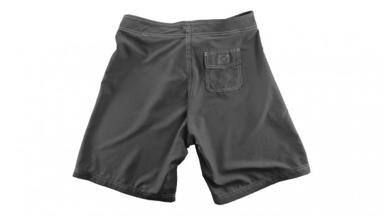 mockup templates Boardshorts, Back