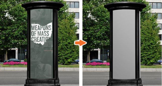 Mockup this Street Billboard in Mockup Everything