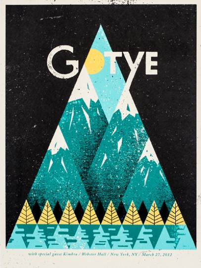 Gotye Poster by Doe Eyed
