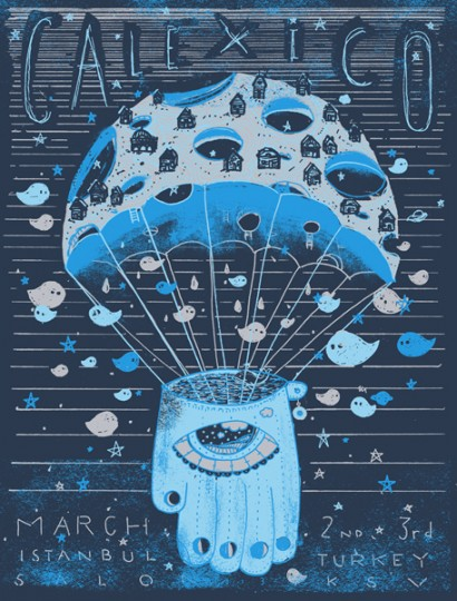 Calexico Poster | The Bubble Process