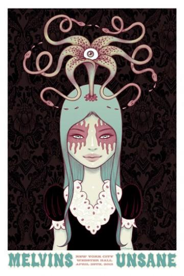 Melvins by Tara McPherson