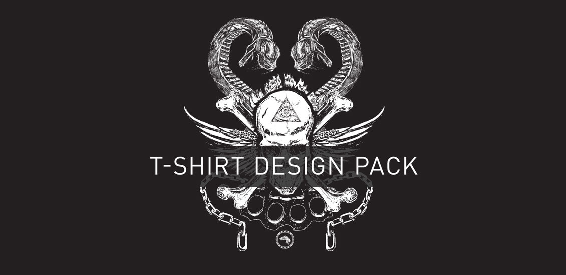 rock-and-roll-t-shirt-design-pack