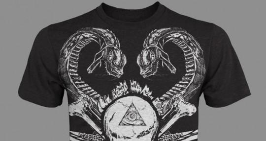 skullandsnake t-shirt design-tee-sm