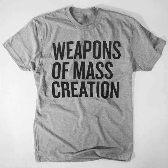 weapons of mass creation fest prize 5