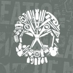 Weapons of Mass Creation Fest Vector Skull Icons Pack by Brandon Rike