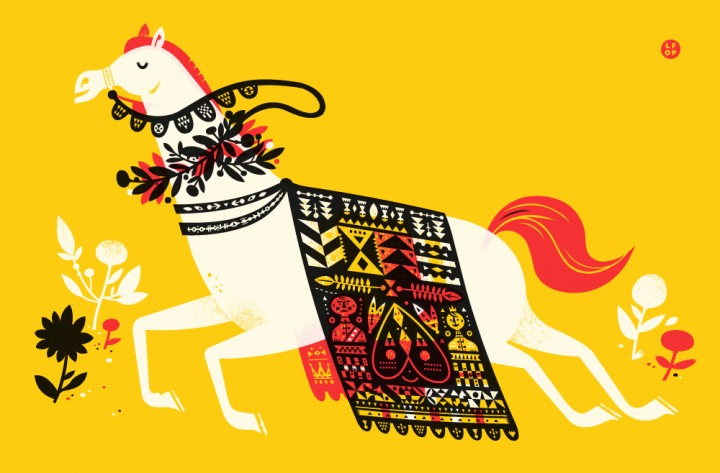 Year of the Horse | The Little Friends of Printmaking