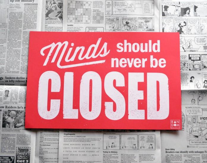 Closed Print | Anthony Simpson
