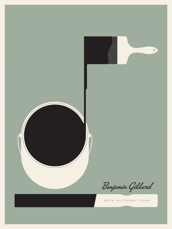 Benjamin Gibbard poster | Jason Munn