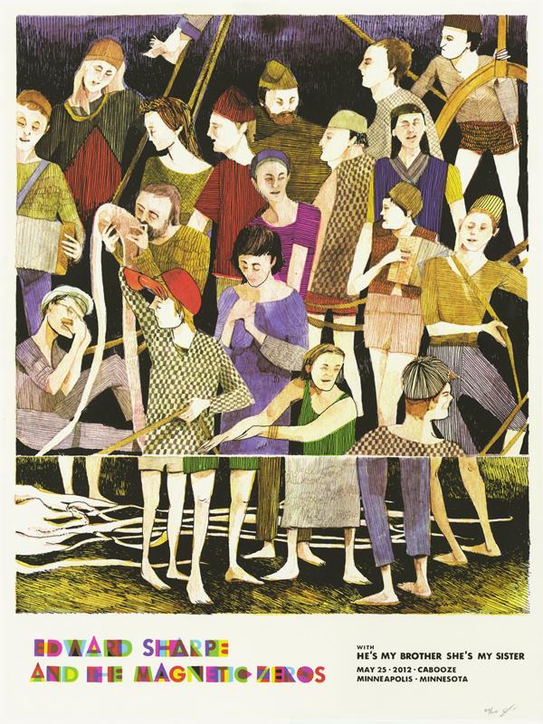 Edward Sharpe & the Magnetic Zeros Poster | Landland